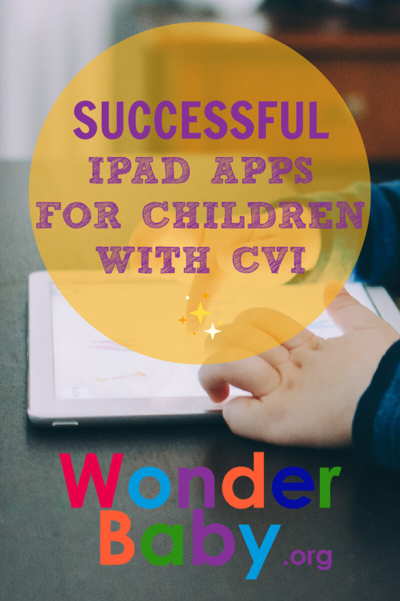 Successful iPad Apps for Children with CVI